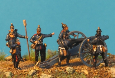 prussian artillerie 1870/71 - Franco-Prussian War