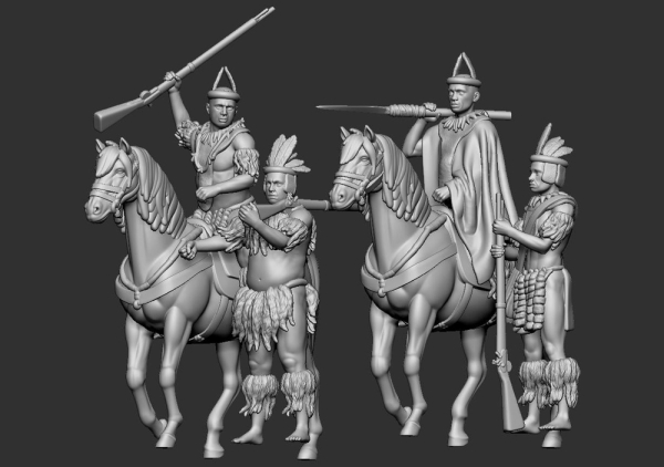 Zulu Command Set / Cavalry Set 1/72