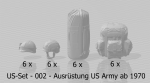 US Army Equipment, helmets - Print on Demand
