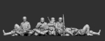 german Army - resting infantry 01 - Print on Demand